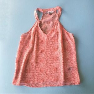 Forever 21   red patterned top   Small